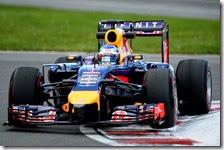 Vettel(Red Bull) al gran premio del Canada 2014