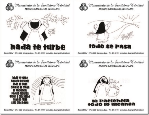 santa teresa dibujos (15)