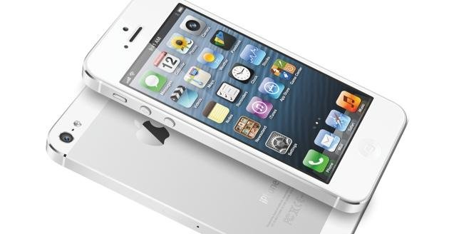 Iphone 5 white silver