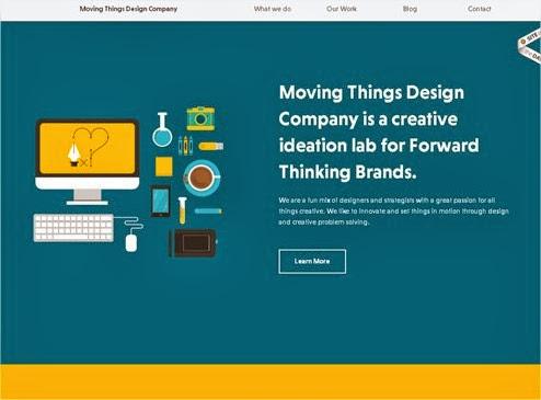20 hermosos y simples sitios web minimalistas 2