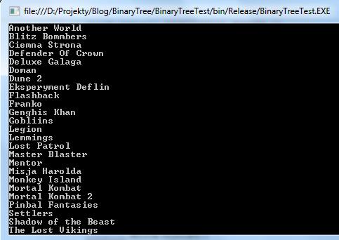string binarytree