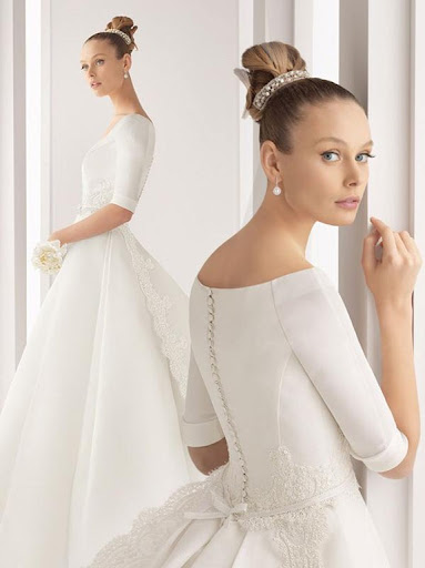 39Oboe 39 wedding dress by Rosa Clara collection 2011