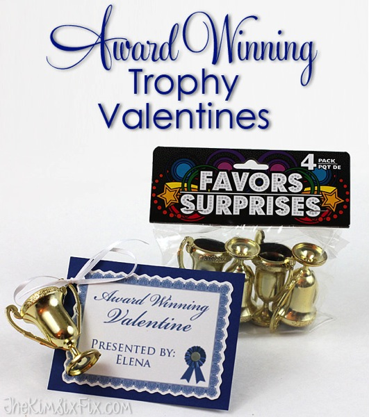 Award winning trophy valentines
