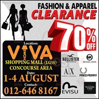 Branded Fashion & Apparel Clearance Sale 2013 Viva Home All Discounts Offer Shopping EverydayOnSales