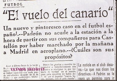 17-1-1931 La Unión RECORTE