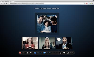 Skype via Browser