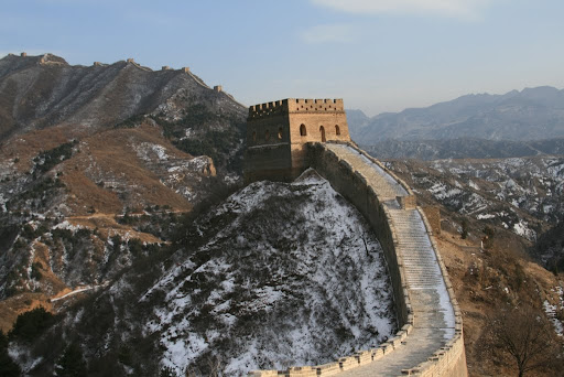 Yes, there are a lot of Great Wall photos. But at 6,000km, it is quite big!