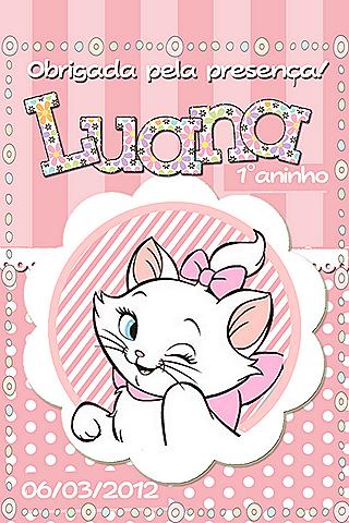 Caderneta Luana