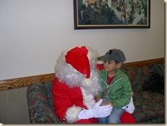 Jett and Santa