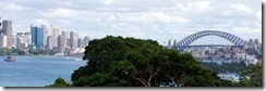 Sydney Harbour seen from Taronga Zoo