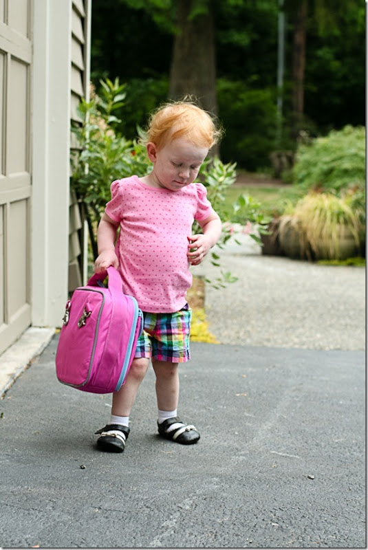 Sara carrying her own lunch bag-8 blog