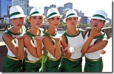 Le ragazze del gran premio d'Australia