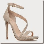 Carvela Kurt Geiger Gold Sandals
