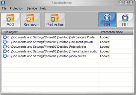 FolderDefence
