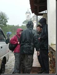 Ouro Preto standing in the rain - Lisa