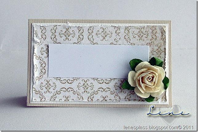 bryllupCE, bordkort