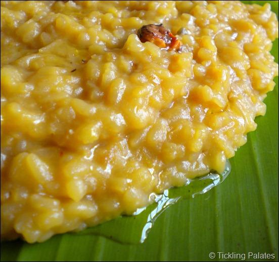 Chakkarai Pongal recipe