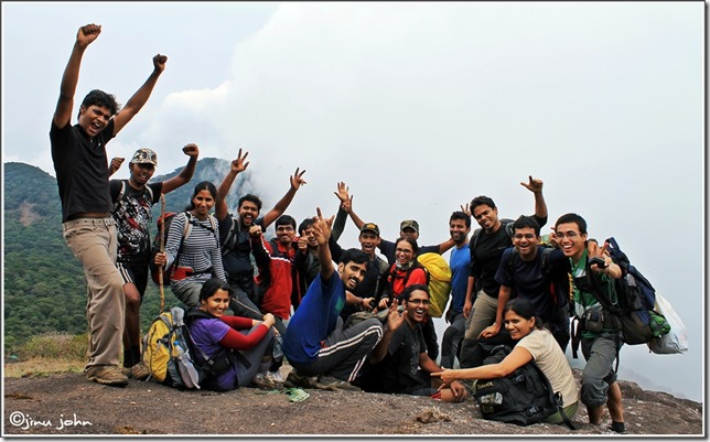 Vellarimala trekking group