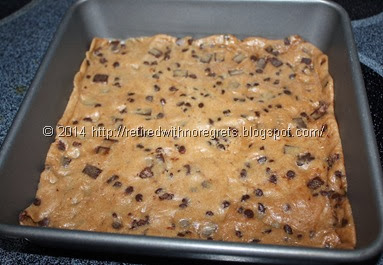 Chocolate-Chip Cookie Bottom Brownies - Gluten Free bottom layer