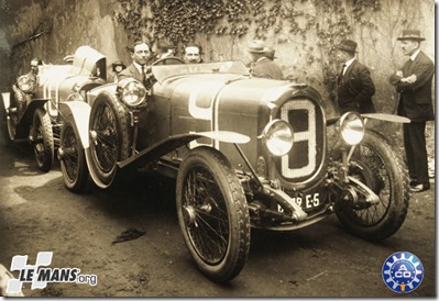 1923 Coupe Rudge-Whitworth Chenard-et Walcker André Lagache  - Raymond Glaszmann #9