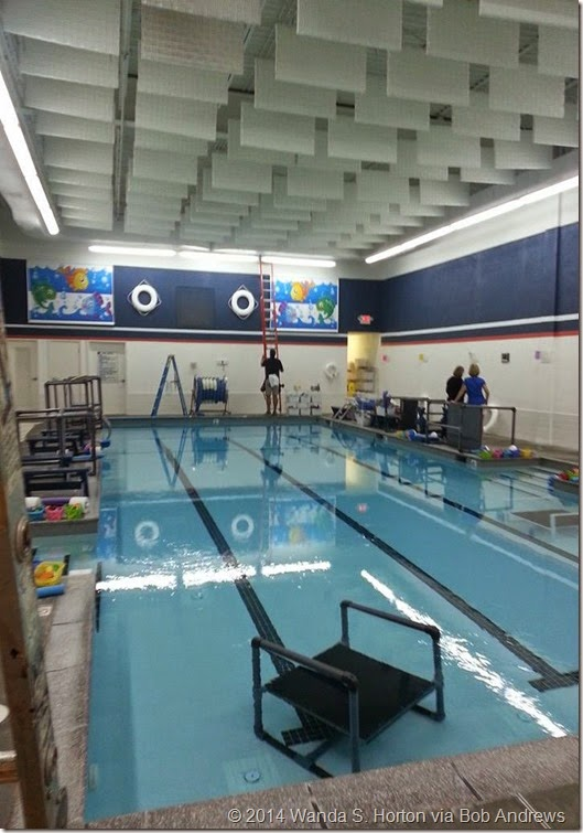 Charlotte Swim Academy Pool Installation Being Completed