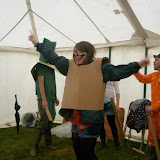 Task 3: challenge the UK's cardboard tube fighting champion to a duel