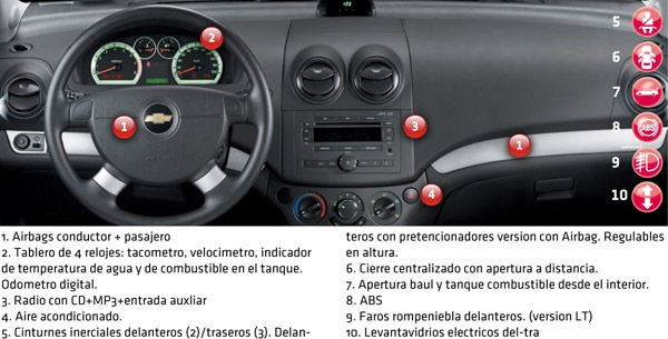Chevrolet Aveo Lt 16 Manual Automotores On Line