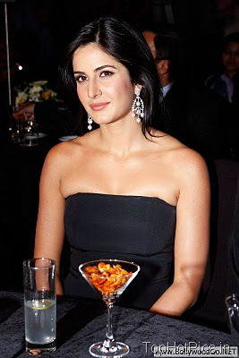 Katrina Kaif in Cute Black Dress Images 1