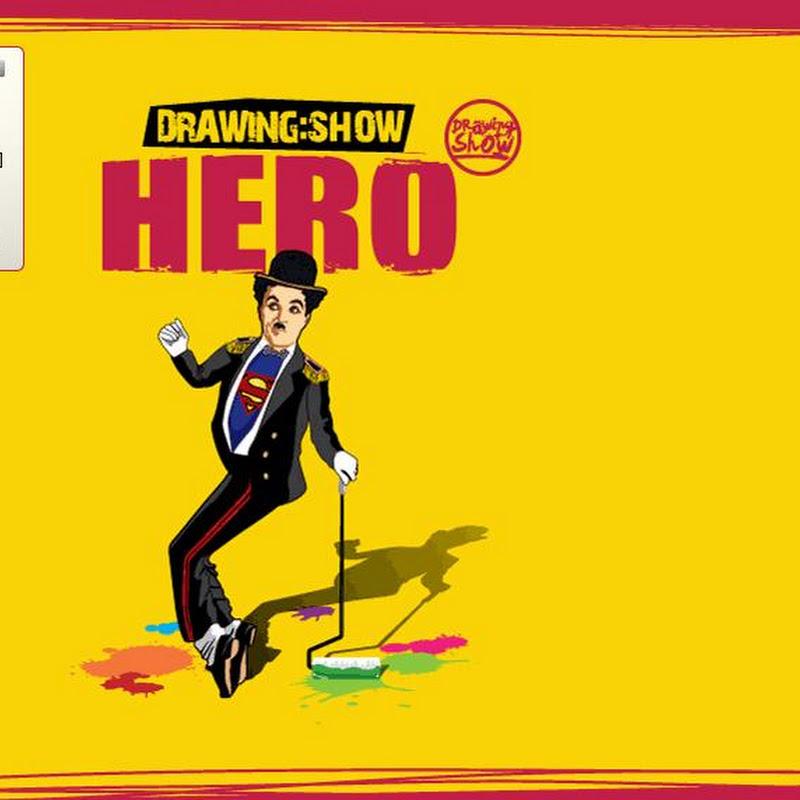 韓國五大必看精彩表演秀HERO Drawing Show塗鴉秀