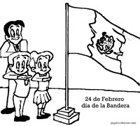 día de la bandera mexico 1