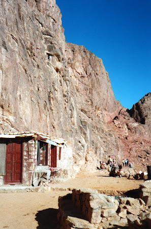 Obiective turistice Sinai Egipt: cabana la coborare