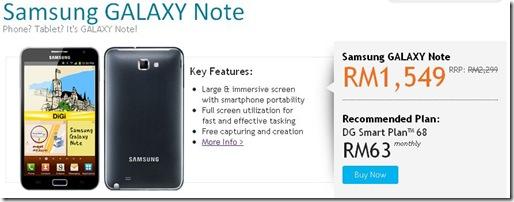 DiGi Samsung Galaxy Note 2