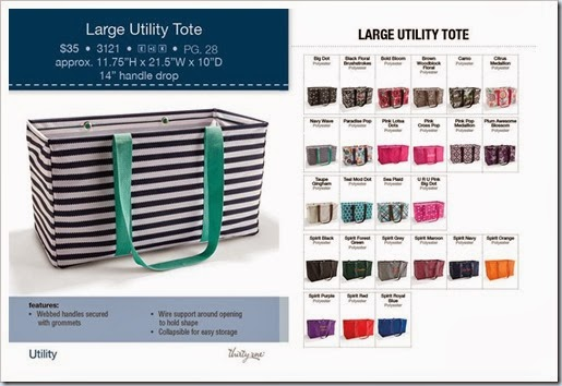 31 large utility tote