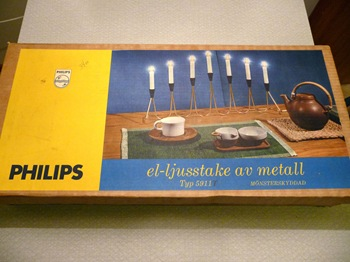 060 Adventsljusstake Philips förpackning Daniel Grankvist