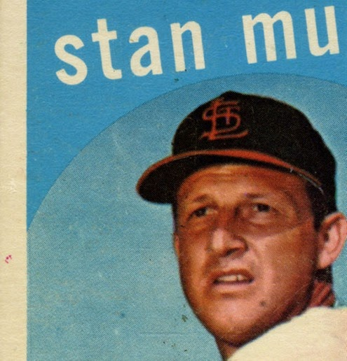 1959 Topps 150 Stan Musial variation