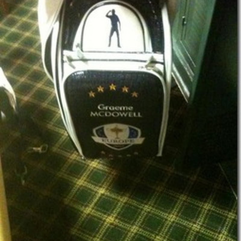 Team Europe's Ryder Cup 2012 Seve Bag