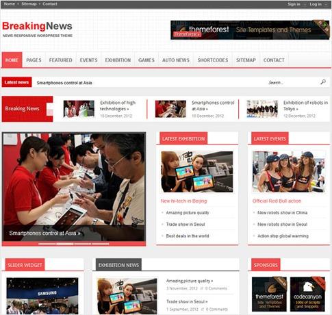 Theme personalizable para noticias