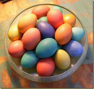 Five of the girls lay beautiful pale green eggs and the six others lay ...