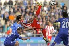 Atlético Madrid y Getafe,