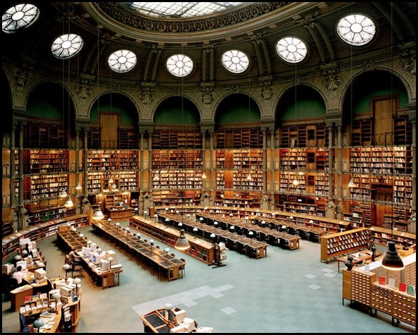 Bibliothèeque nationale de France, Paris, France