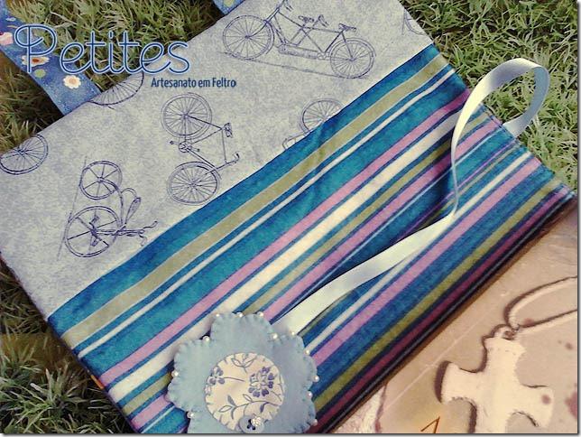 capa para livro cupcake azul 01