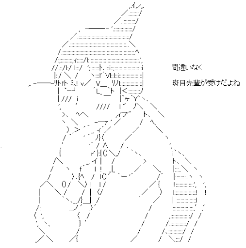荻上千佳 考える (げんしけん)