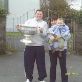 Colin O Sullivan, Mairead Hennessey and Maireads nephew Cathal O'Riordan