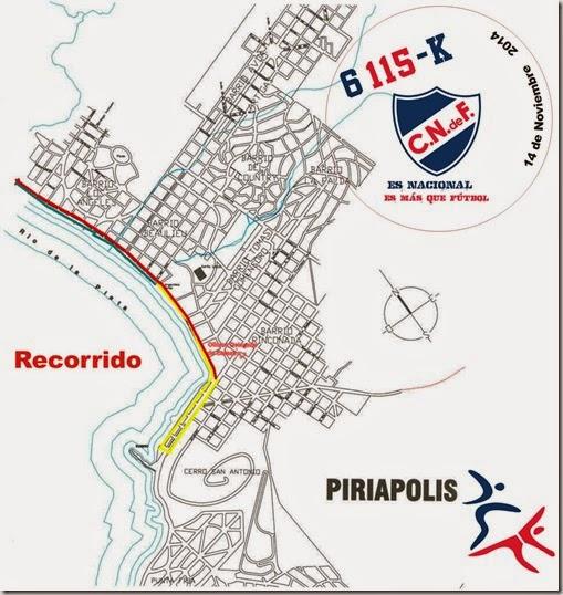 Circuito 6115 Piriapolis