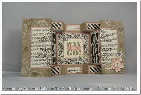 Double Display Birthday Card for Shelli, Amanda Bates at The Craft Spa (3)