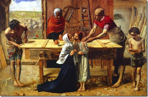 Christ in the House of His Parents<br />Sir. John Everett Millais