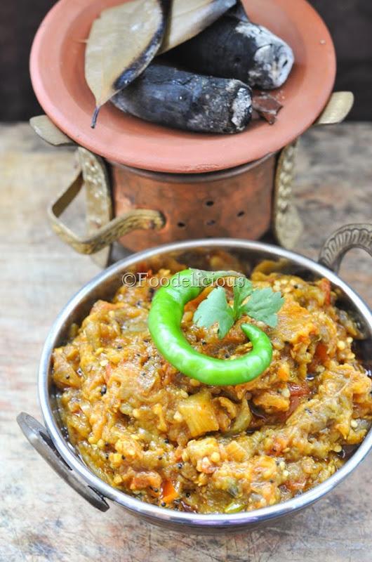 Foodelicious-Dungaar Baingan Bharta