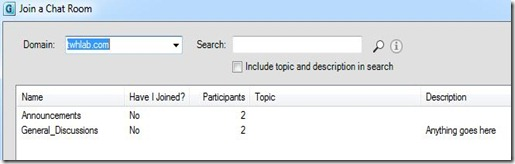 Lync GC Fed - domain search