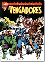 P00016 - Biblioteca Marvel - Avengers #16