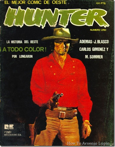 2012-02-14 - Revistas Hunter y Sargento Kirk